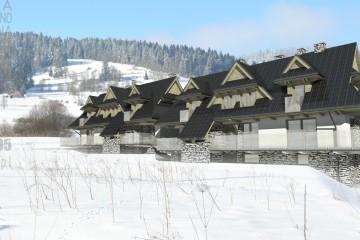 dwa budynki mieszkalne jednorodzinne w Zakopanem